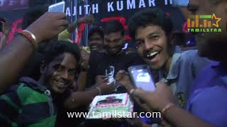 Thala Ajith Fans Celebrates Vivegam Movie Release