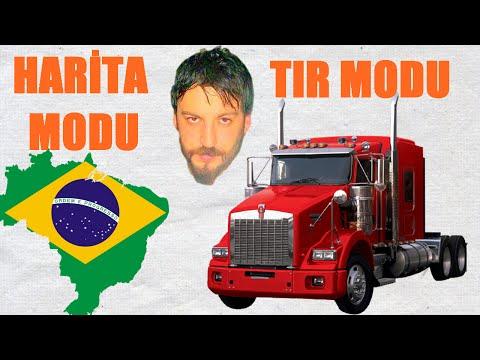 Euro Truck Simulator 2 Türkçe | American Tır Modu & Brezilya Harita Modu