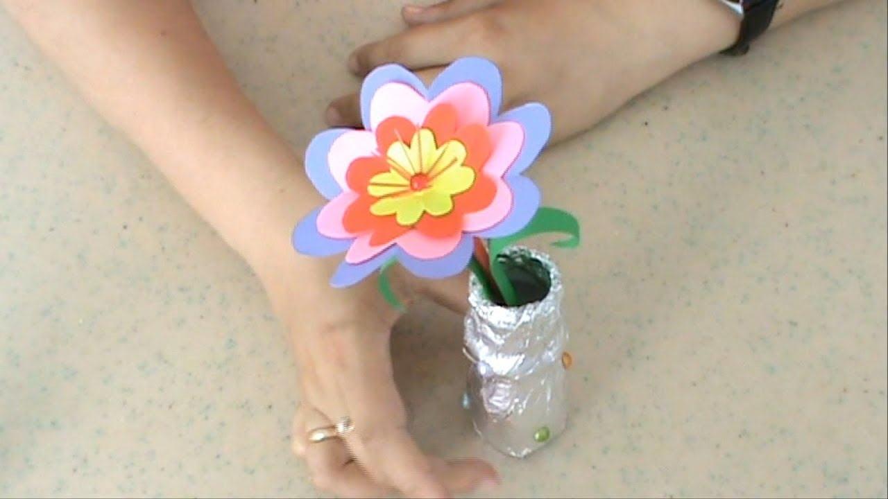 Поделка из цветов своими руками для детей 73