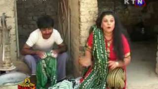 sindhi funny clip...........mama laloo and his wife........by munsif iqbal jagirani