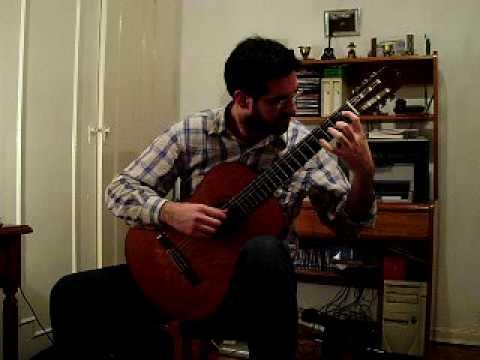 Preludio Americano nº 1 Evocacion (Carlevaro)Raul Fernandez Celauro, guitar