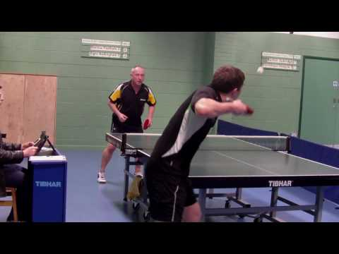 Scott Crawford (Barrow II) vs Chris Brewer (Elgre Nottingham II) British League Division 2 North (Weekend 4) Draycott &amp; Long Eaton Table Tennis Centre Barrow...