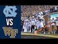 Week 3 College Football North Carolina vs Wake Forest Full Game Highlights