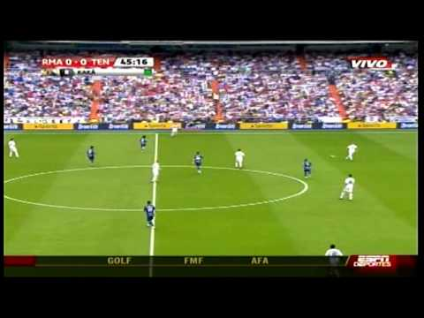 Gol de Karim Benzema 1-0 Real Madrid 3-0 Tenerife 09 26 2009 90mas.com HD HQ highlight