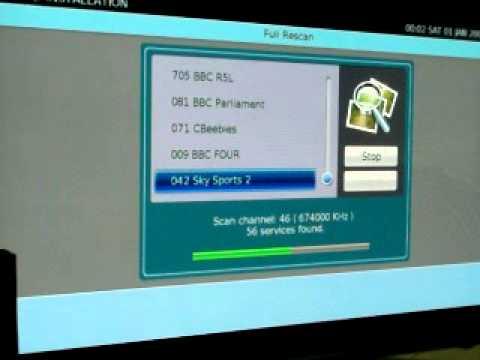Digitalstream DHR8205 Error