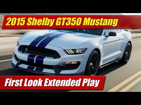 First Look Extended Play: 2016 Shelby GT350 Mustang