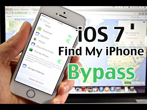 How To Bypass Find My iPhone iOS 7 - MAJOR New iCloud Security Flaw On iPhone. iPad & iPod