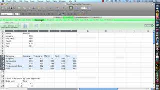 EXCEL 2008 Tutorial