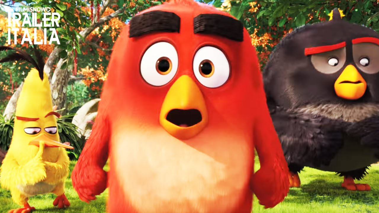 ANGRY BIRDS: Scopri il terrificante grido di guerra della Grande Aquila!