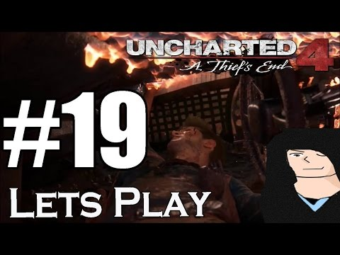Crash and Burn Lets Play Uncharted 4 A Thief's End Walkthrough Part 19 PS4 Gameplay