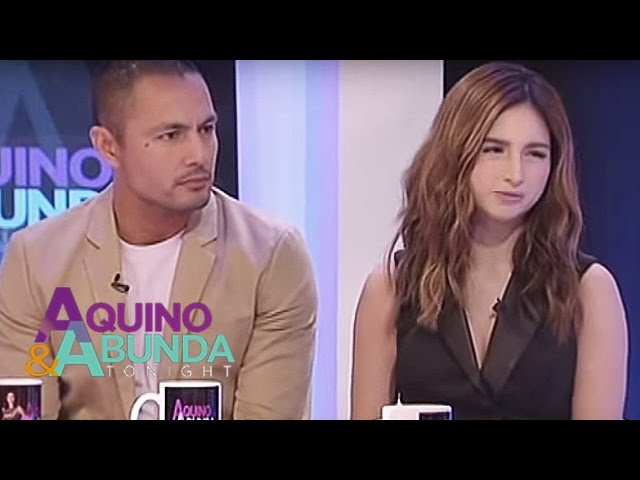 What does Coleen and Derek feel about their love scenes?