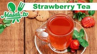 Strawberry Tea | minuman #088