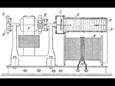 Механическая модель трансформатора Тесла. Теория.