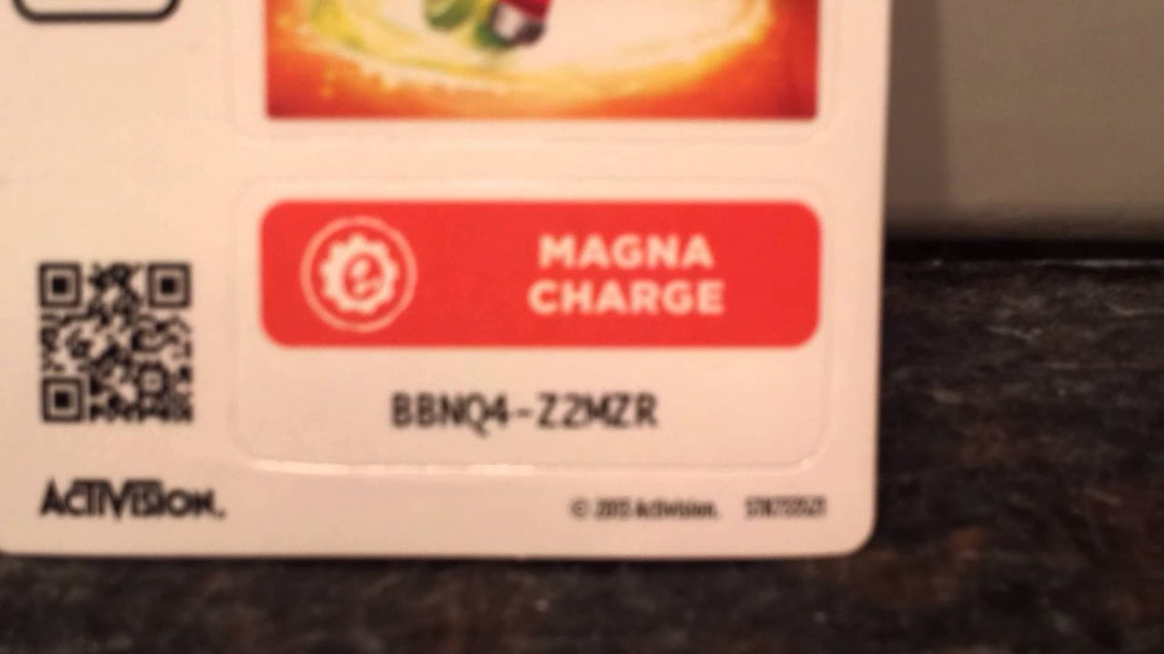 Skylanders swap force Magna charge code - YouTube