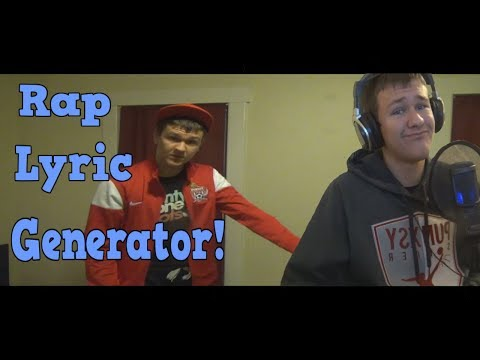 Using Lyric Generators To Make A Rap Song