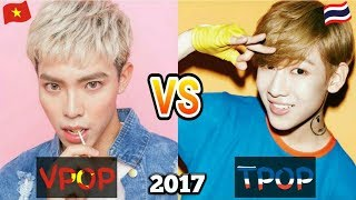 V-POP vs T-POP | December 2017