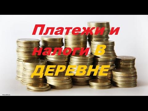 Платежи и налоги в деревне/Жить в деревне.