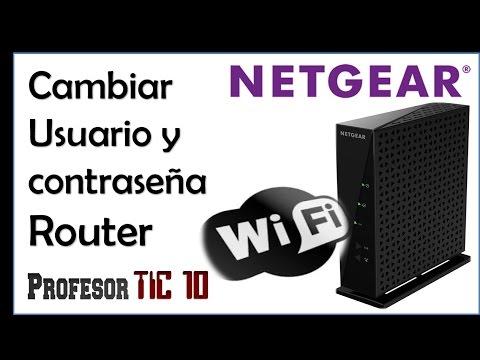 Change Netgear Router username and password | Cómo cambiar usuario y contraseña del Router Netgear