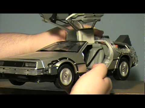 Back to the Future: 1/15th Scale Time Machine (DeLorean) Toy Review
