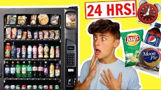 I Only Ate VENDING MACHINE FOODS For 24 Hours! (IMPOSSIBLE)