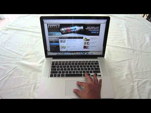 How To Use MacBook Pro TrackPad Gestures (Touch Pad)