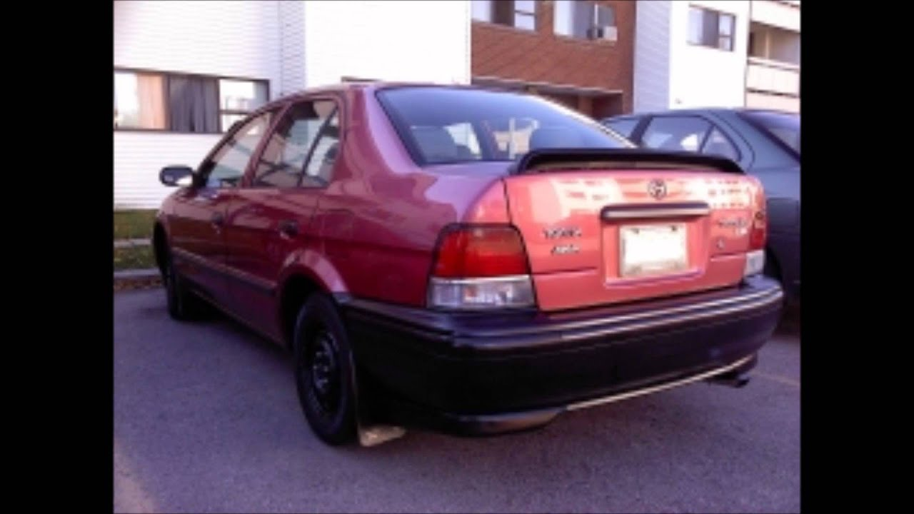Toyota Tercel 1995-1998 Hd Coupe And Sedan