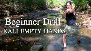 Download Beginner Drill. Filipino Kali Empty Hands 3Gp Mp4