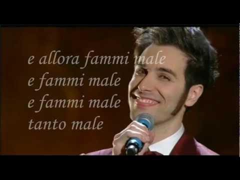 Mi servirebbe sapere Antonio Maggio Karaoke (Base al piano con testo) Sanremo 2013