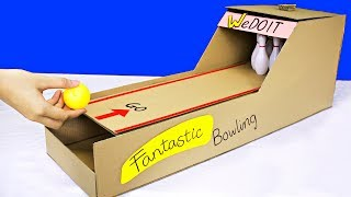How to Make Bowling Ball Game from Cardboard