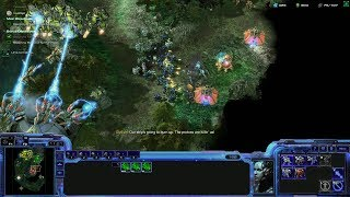 StarCraft 2 Co-op Campaign: Wings of Liberty Mission 18a - Safe Haven