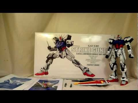 PG Strike Gundam Review Part 2(Mobility.Weapons.Posing.Grading) 1/60 Perfect Grade Gunpla Review