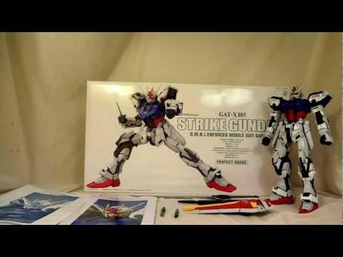 PG Strike Gundam Review Part 2(Mobility.Weapons.Posing.Grading) 1/60 Perfec