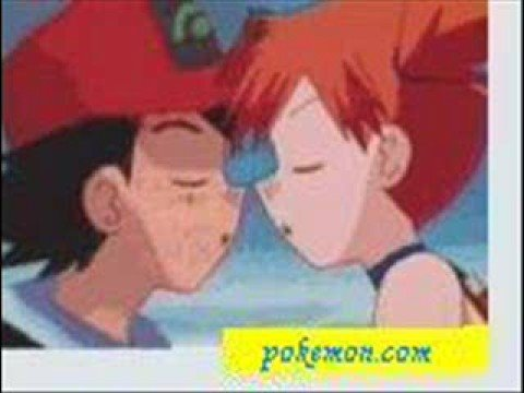 ash and misty kiss the girl № 334741