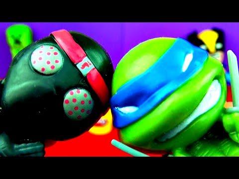 Teenage Mutant Ninja Turtles MASH'EMS TMNT Donatello Michelangelo Leonardo Mash'em Toys FluffyJet