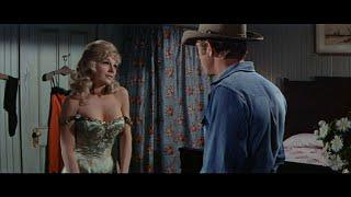 Steve McQueen and Joanna Moore. Sexy Scene. (Nevada Smith 1966)
