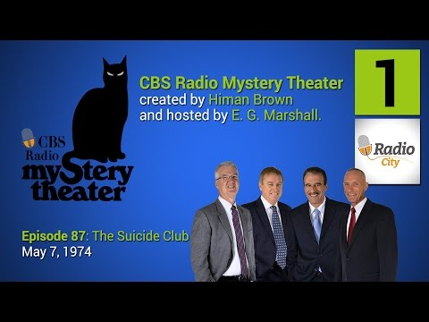 CBS Radio Mystery Theater - Episode 87: The Suicide Club