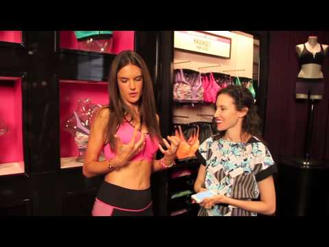 Interview with Victoria's Secret Supermodel Alessandra Ambrosio
