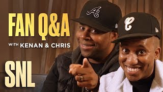 SNL Fan Q&A with Kenan Thompson and Chris Redd