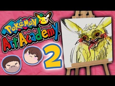 Pokemon Art Academy: Hey Froakie! - PART 2 - Grumpcade