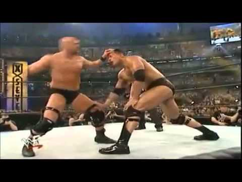 stone Cold Steve Austin Vs The Rock Wrestlemania 17 Highlights video