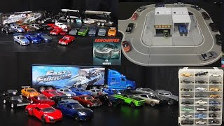 Fast and Furious Cars Stop Motion Movie Collection