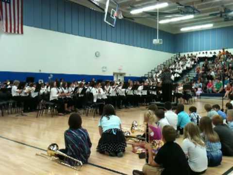 Minooka Intermediate School Band Spring Concert 2010
