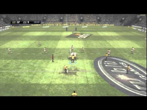 Rugby Challenge Wallabies vs England HD