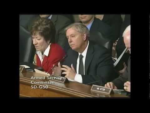 Graham Questions Secretary Panetta and General Dempsey