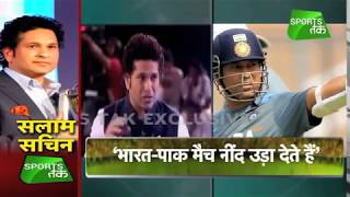 Sachin Tendulkar Picks his Favourite Wins Vs Pakistan | Vikrant Gupta | Sports Tak