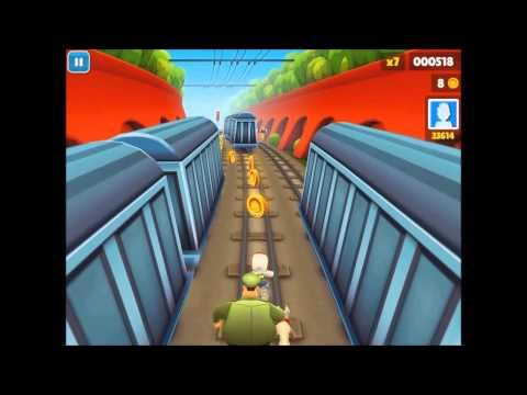 Subway Surfers Gameplay PC Version