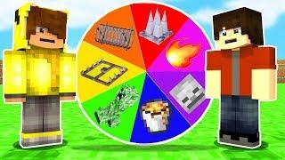TUZAKLI ÇARK ÇEVİRME OYNADIK! 😱 - Minecraft