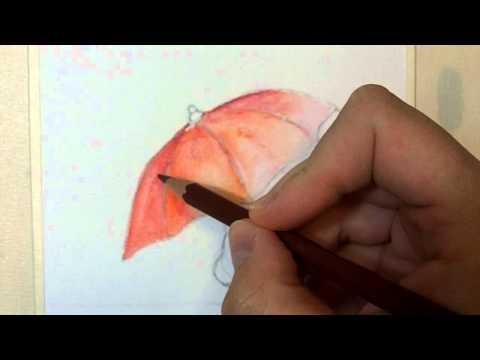 Acquerello: tecnica con matite acquerellabili
