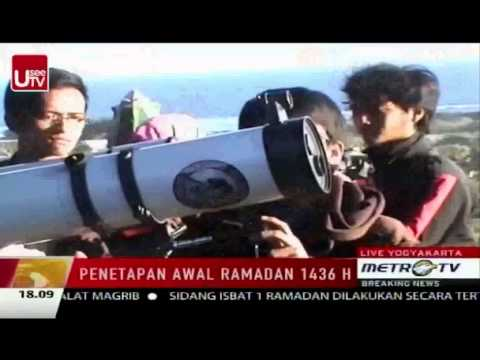 JAC on Metrotv Rukyat Ramadhan 2015