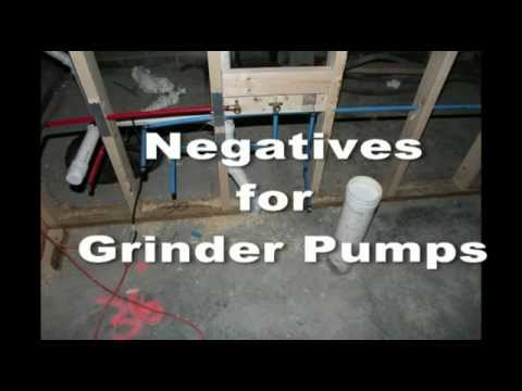home sewer service and grinder pumps youtube